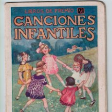 Libros antiguos: CANCIONES INFANTILES- BELLAS ILUSTRACIONES DE JOAN LLAVERIAS I LABRÓ - RAMÓN SOPENA, AÑOS 30.. Lote 139131414