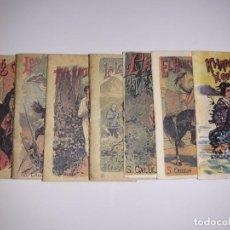 Libros antiguos: 7 LIBRITOS CALLEJA KHAN KILIN KON HALCÓN CAZADOR CLAVE TESOROS LEYENDA SEDA TESTIGOS ALAS BUÑUELOS. Lote 148559818