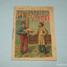 Libri antichi: ANTIGUO CUENTO EL LABRADOR Y LA OCA OBSEQUIO DE CASA FIGUERAS A SUS CONSUMIDORES. Lote 149135166