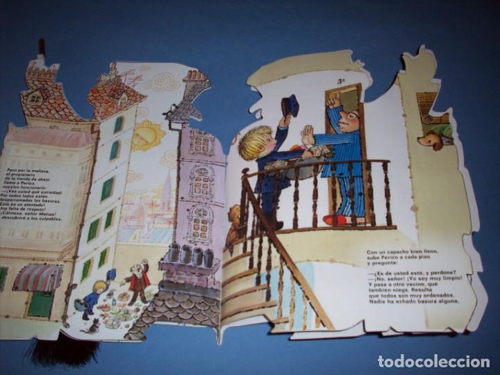 Libros antiguos: mantenga limpio el corazon cuento troquelado de ferrandiz con juguete - Foto 2 - 149221686