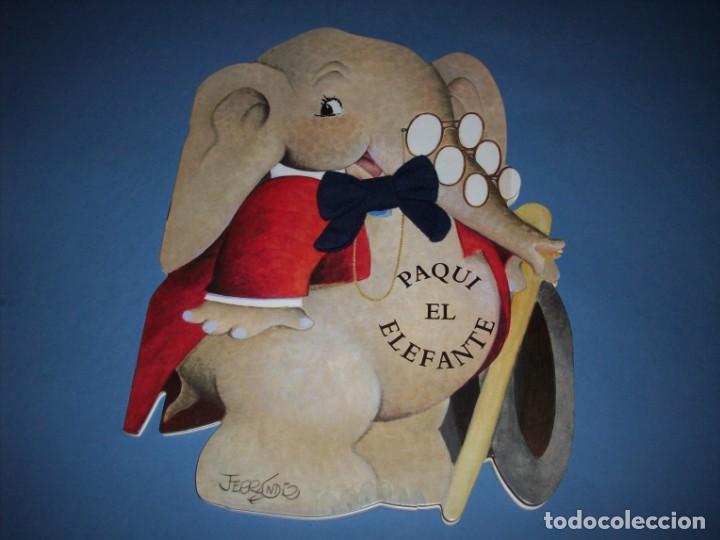 PAQUI EL ELEFANTE CUENTO TROQUELADO DE FERRANDIZ CON JUGUETE (Libros Antiguos, Raros y Curiosos - Literatura Infantil y Juvenil - Cuentos)