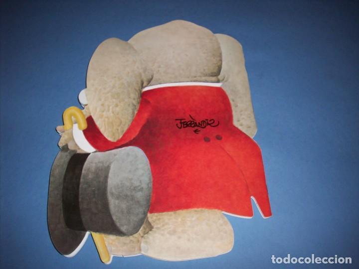 Libros antiguos: paqui el elefante cuento troquelado de ferrandiz con juguete - Foto 3 - 149222242