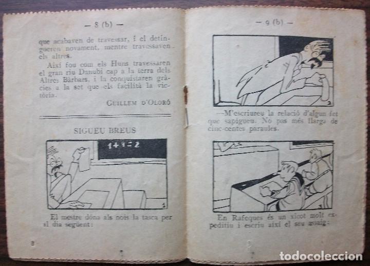 Libros antiguos: ESQUITX Nº 144(B) SET DE CONQUISTA. SUPLEMENT DEN PATUFET - Foto 3 - 149387294
