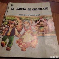 Libros antiguos: LA CASITA DE CHOCOLATE, CUENTO TEATRO.. Lote 149707094