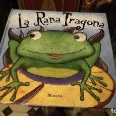 Livres anciens: EDICIONES BEASCOA - LA RANA TRAGONA 1999 - BUEN ESTADO - OJOS MOVILES - DAWN BENTLEY. Lote 149734946