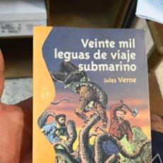 Libros antiguos: VEINTE MIL LEGUAS DE VIAJES SUBMARINO JULIO VERNE BIBLIOTECA JUVENIL ALIANZA EDITORIAL 2003. Lote 149748334