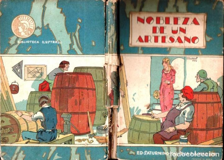 NOBLEZA DE UN ARTESANO (CALLEJA, C. 1920) (Libros Antiguos, Raros y Curiosos - Literatura Infantil y Juvenil - Cuentos)