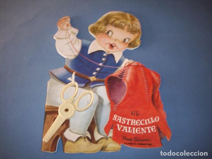 TROQUELADO FERRANDIZ, EL SASTRECILLO VALIENTE, CON JUGUETE (Libros Antiguos, Raros y Curiosos - Literatura Infantil y Juvenil - Cuentos)