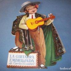 Libros antiguos: TROQUELADO FERRANDIZ, LA GUITARRA EMBRUJADA, CON JUGUETE. Lote 150375754
