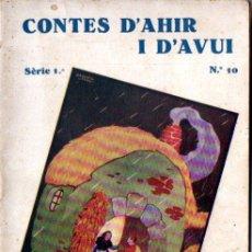Libros antiguos: GERMANS GRIMM : JEPÒ I JEPET - LA VESTIDURA INVISIBLE DE L'EMPERADOR - JOAN SOC (1931) CATALÀ. Lote 150567302