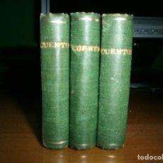 Livros antigos: 3 MINI-LIBROS CUENTOS DE COLOR DE ROSA Y JUGUETES INSTRUCTIVOS - SATURNINO CALLEJA - EDT. CALLEJA. Lote 150731062