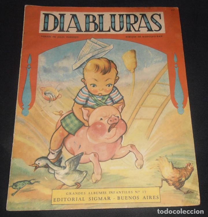 DIABLURAS, EDITORIAL SIGMAR, BUENOS AIRES , 1950 (Libros Antiguos, Raros y Curiosos - Literatura Infantil y Juvenil - Cuentos)