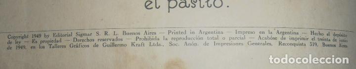 Libros antiguos: EL RATON DE LOS DIENTECITOS , EDITORIAL SIGMAR 1949, BUENOS AIRES - Foto 3 - 150815262