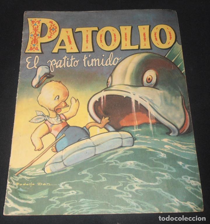PATOLIO, EL PATITO TIMIDO, EDITORIAL SIGMAR BUENOS AIRES , 1948 (Libros Antiguos, Raros y Curiosos - Literatura Infantil y Juvenil - Cuentos)