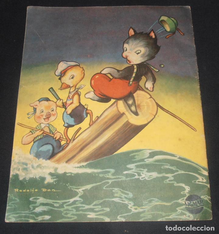 Libros antiguos: PATOLIO, EL PATITO TIMIDO, EDITORIAL SIGMAR BUENOS AIRES , 1948 - Foto 2 - 150820882