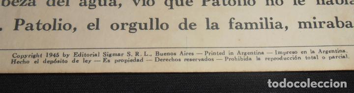 Libros antiguos: PATOLIO, EL PATITO TIMIDO, EDITORIAL SIGMAR BUENOS AIRES , 1948 - Foto 3 - 150820882