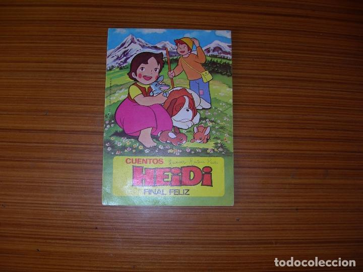 CUENTOS HEIDI N 16 EDITA BRUGUERA (Old, Rare and Curious Books - Children's and Young Adult Literature - Fairy Tales)