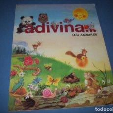Libros antiguos: ADIVINA LOS ANIMALES. Lote 151418714