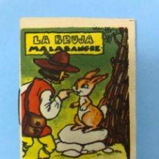 Libros antiguos: LA BRUJA MALASANGRE CUENTO CHICO, PUBLICIDAD CHOCOLATES ORBEA, PAMPLONA, AÑOS 20-30. Lote 151441446