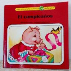 Libros antiguos: ELIGE TU PRIMERA AVENTURA - EL CUMPLEAÑOS - TIMUN MAS - GLOBO VERDE - PROPIA - RARO ZPW. Lote 205270497