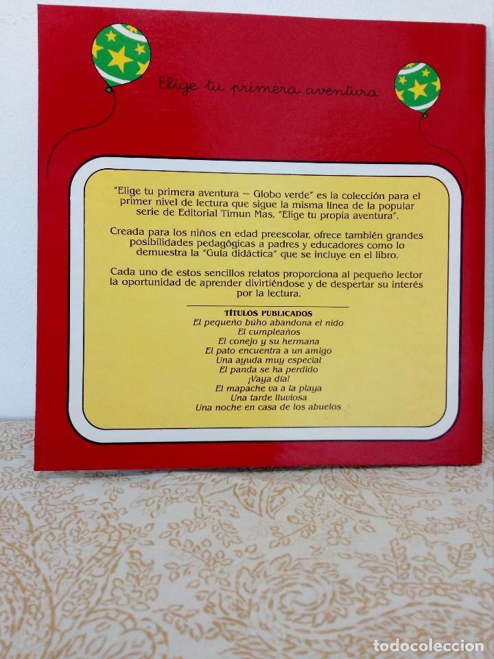Libros antiguos: ELIGE TU PRIMERA AVENTURA - EL CUMPLEAÑOS - TIMUN MAS - GLOBO VERDE - PROPIA - RARO ZPW - Foto 2 - 205270497