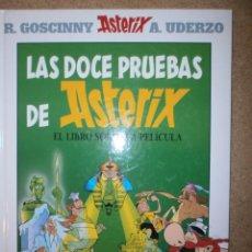 Libros antiguos: LAS DOCE PRUEBAS DE ASTERIX NUEVO TAPA DURA. Lote 151607790