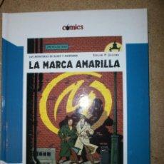 Libros antiguos: LA MARCA AMARILLA LAS AVENTURAS DE BLAKE Y MORTIMER NUEVO. Lote 151608630