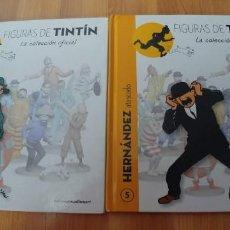 Libros antiguos: FIGURAS DE TINTIN-NUMEROS 3 Y 5-TAPA DURA-SOLO LIBROS-TAPA DURA-. Lote 151620638