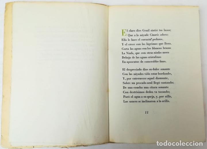 Libros antiguos: LA FÁBULA DE GENIL. PEDRO ESPINOSA. EDITORIAL CRUZ Y RAYA. MADRID 1935 - Foto 3 - 151975590