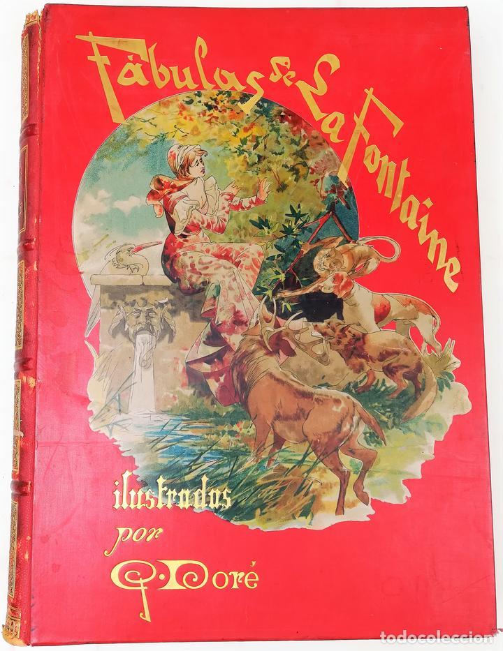 FÁBULAS DE LA FONTAINE.JEAN DE LA FONTAINE. EDIT.MONTANER Y SIMÓN BARCELONA 1885 (Libros Antiguos, Raros y Curiosos - Literatura Infantil y Juvenil - Cuentos)