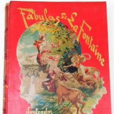 Libros antiguos: FÁBULAS DE LA FONTAINE.JEAN DE LA FONTAINE. EDIT.MONTANER Y SIMÓN BARCELONA 1885. Lote 152151578