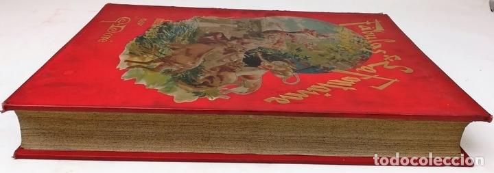 Libros antiguos: FÁBULAS DE LA FONTAINE.JEAN DE LA FONTAINE. EDIT.MONTANER Y SIMÓN BARCELONA 1885 - Foto 3 - 152151578