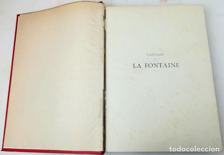 Libros antiguos: FÁBULAS DE LA FONTAINE.JEAN DE LA FONTAINE. EDIT.MONTANER Y SIMÓN BARCELONA 1885 - Foto 5 - 152151578