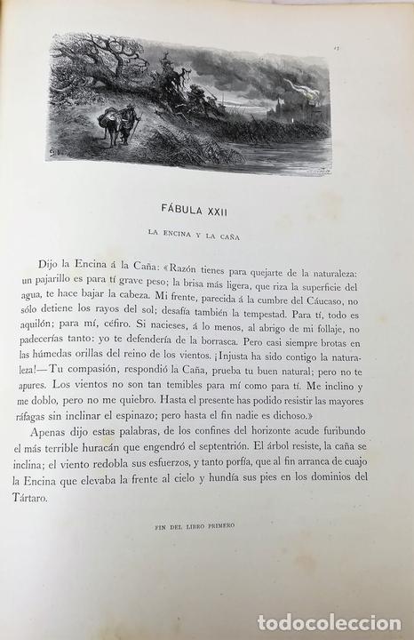 Libros antiguos: FÁBULAS DE LA FONTAINE.JEAN DE LA FONTAINE. EDIT.MONTANER Y SIMÓN BARCELONA 1885 - Foto 7 - 152151578
