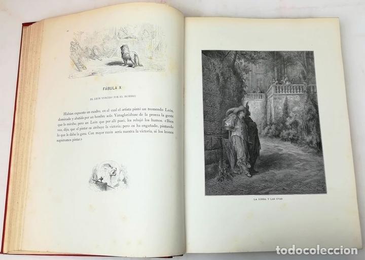 Libros antiguos: FÁBULAS DE LA FONTAINE.JEAN DE LA FONTAINE. EDIT.MONTANER Y SIMÓN BARCELONA 1885 - Foto 8 - 152151578