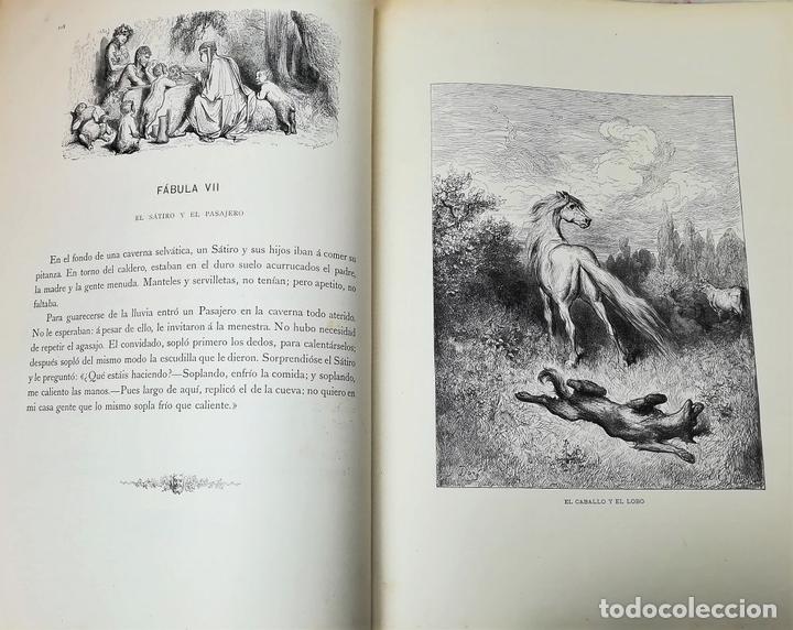 Libros antiguos: FÁBULAS DE LA FONTAINE.JEAN DE LA FONTAINE. EDIT.MONTANER Y SIMÓN BARCELONA 1885 - Foto 9 - 152151578