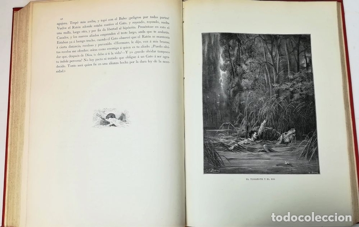 Libros antiguos: FÁBULAS DE LA FONTAINE.JEAN DE LA FONTAINE. EDIT.MONTANER Y SIMÓN BARCELONA 1885 - Foto 10 - 152151578