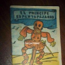 Libros antiguos: EL PRINCIPE ESPANTAPAJAROS.COLECCION GACELA NUMERO 10. 9 CM X 6 CM. Lote 152330082