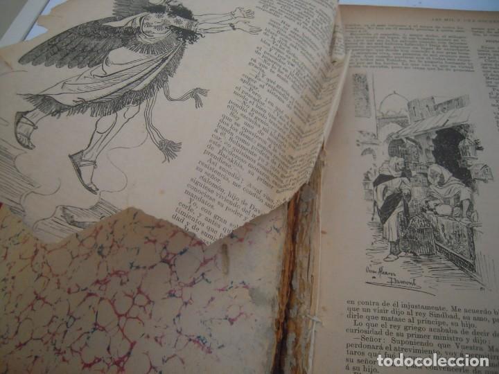 Libros antiguos: Cuentos de las mil y una noches (1903, ilustraciones de César Álvarez Dumont) - Foto 2 - 152335386