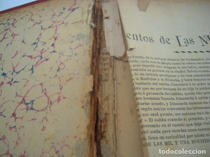 Libros antiguos: Cuentos de las mil y una noches (1903, ilustraciones de César Álvarez Dumont) - Foto 4 - 152335386