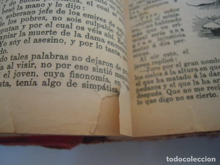 Libros antiguos: Cuentos de las mil y una noches (1903, ilustraciones de César Álvarez Dumont) - Foto 5 - 152335386