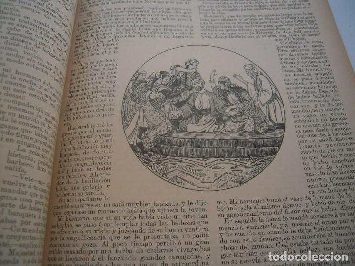 Libros antiguos: Cuentos de las mil y una noches (1903, ilustraciones de César Álvarez Dumont) - Foto 8 - 152335386