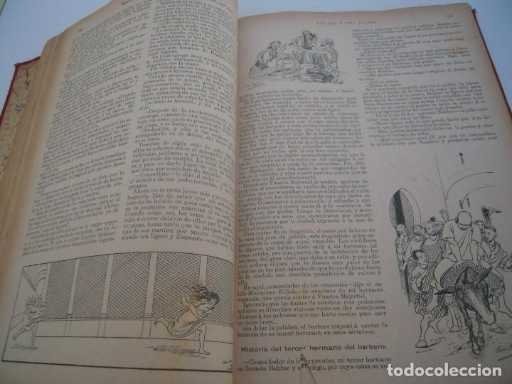 Libros antiguos: Cuentos de las mil y una noches (1903, ilustraciones de César Álvarez Dumont) - Foto 9 - 152335386