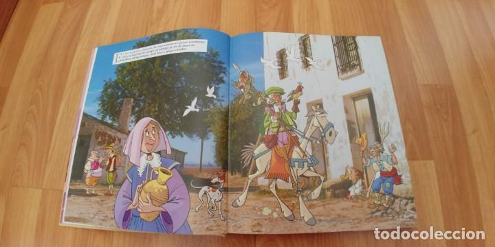 Libros antiguos: don quijote de la mancha. miguel de cervantes. ilustraciones de antonio albarrán. susaeta ediciones - Foto 2 - 152661086
