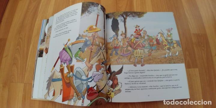 Libros antiguos: don quijote de la mancha. miguel de cervantes. ilustraciones de antonio albarrán. susaeta ediciones - Foto 3 - 152661086
