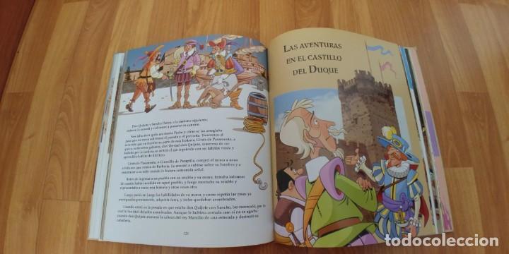 Libros antiguos: don quijote de la mancha. miguel de cervantes. ilustraciones de antonio albarrán. susaeta ediciones - Foto 4 - 152661086