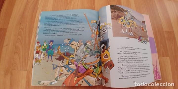 Libros antiguos: don quijote de la mancha. miguel de cervantes. ilustraciones de antonio albarrán. susaeta ediciones - Foto 5 - 152661086
