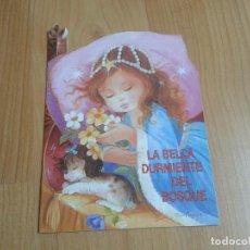 Alte Bücher - La Bella durmiente del Bosque - Constanza - Colección Rubí - Ed. Testa - 1994 - Cuento troquelado - 152736194