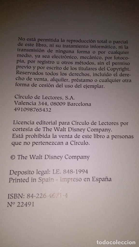 Libros antiguos: Disney pinocho , círculo de lectores - Foto 3 - 153126738