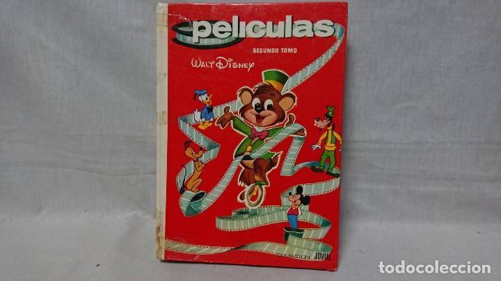 LIBRO PELÍCULAS WALT DISNEY TOMÓ 2 COLECCIÓN JOVIAL (Libros Antiguos, Raros y Curiosos - Literatura Infantil y Juvenil - Cuentos)